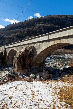 Bridge in exterior