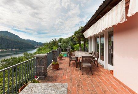 nice house, balcony