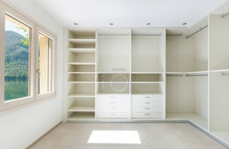 Photo for Interior of a new empty house, dressing room - Royalty Free Image