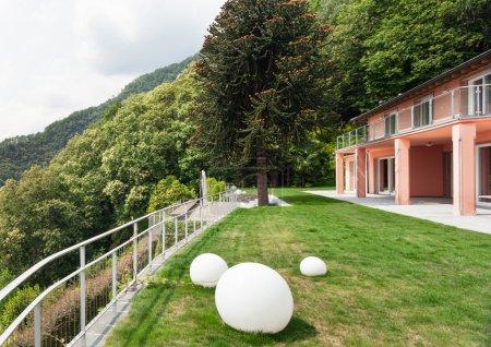 Nice villa, outdoors