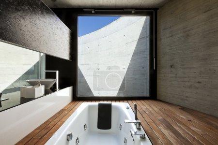 Interior, modern bathroom