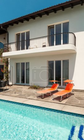 Photo for House, nice terrace with swimming pool - Royalty Free Image