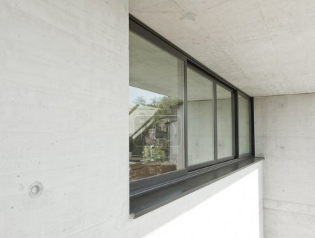 Windows outside of the house
