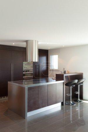 Apartment, modern kitchen