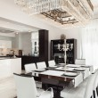 Постер, плакат: Interiors luxury dining room