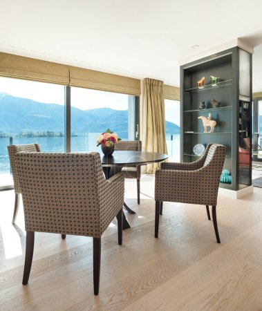 Interiors, elegant dining room