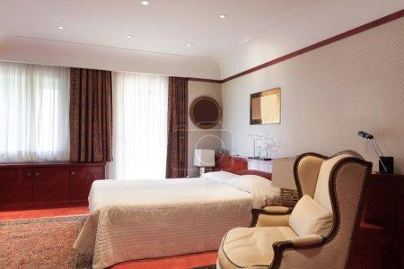 Interior, bedroom comfortable