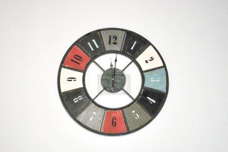 Clock face . Time concept.