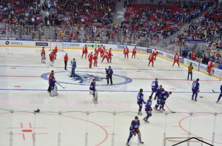Ice hockey game KHL Sochi, Russia 2015