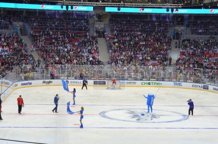 Ice hockey game in Sochi, Russia 2015