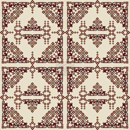 oriental style seamless pattern vector eleven