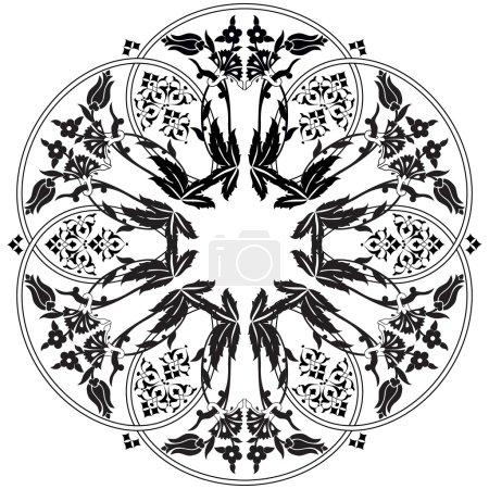 Ottoman motifs design series ninety one