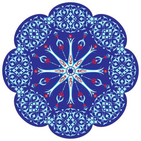 Ottoman motifs design series ninety two