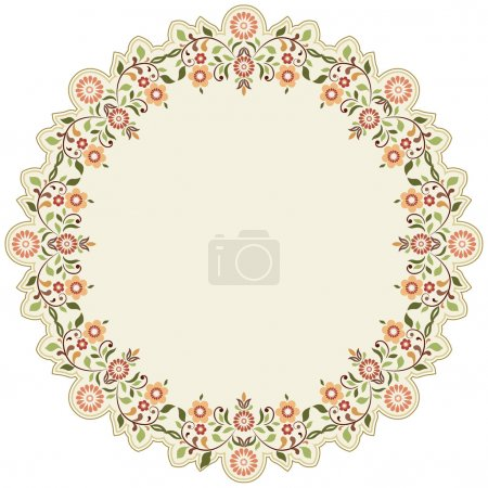 circular islamic background six