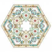 artistic ottoman pattern series four