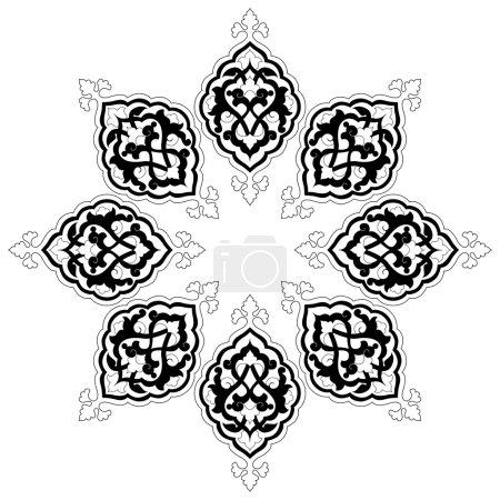 artistic ottoman pattern series fourteen