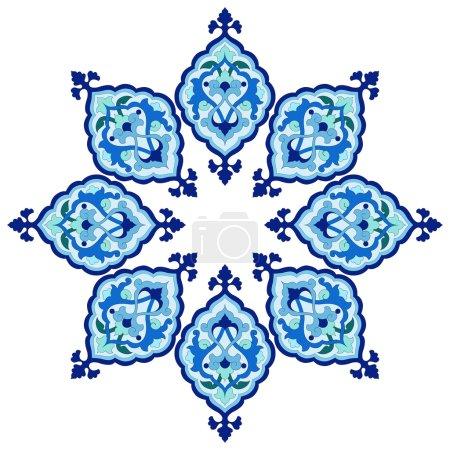 artistic ottoman pattern series fiveteen