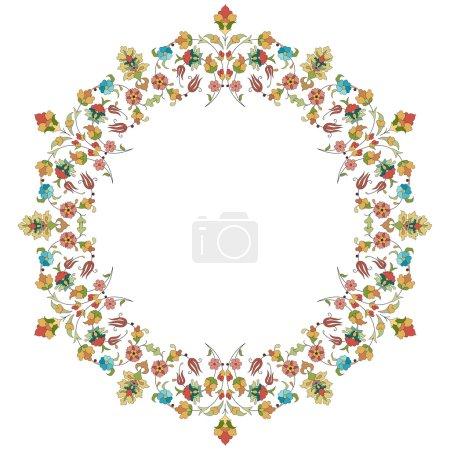artistic ottoman pattern series thirty