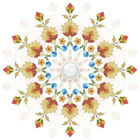 artistic ottoman pattern series twenty two