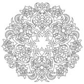 lines artistic ottoman pattern series fifty five