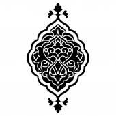 artistic ottoman pattern series sixty eight