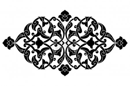 artistic ottoman pattern series fifty seven