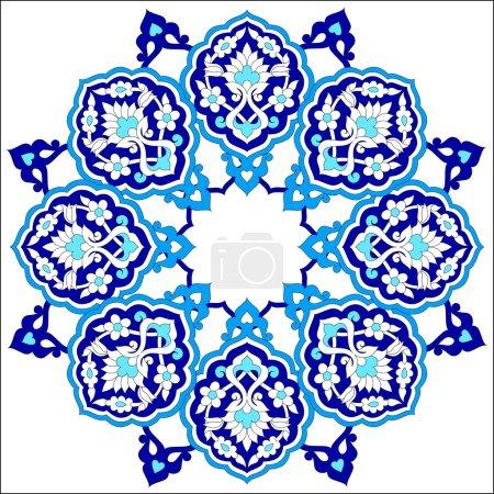 artistic ottoman pattern series seventy nine