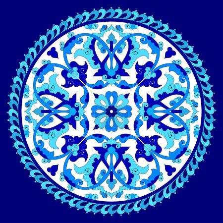artistic ottoman pattern series seventy eight one
