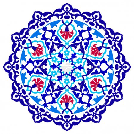 version artistic ottoman pattern series ninety one