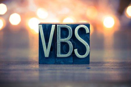 VBS Concept Metal Letterpress Type