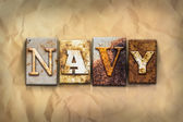 Navy Concept Rusted Metal Type