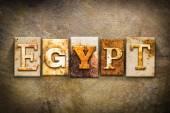 Egypt koncept knihtisk kůže téma