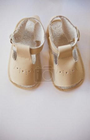 Pair of soft baby shoes