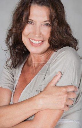 portrait of a mature senior business woman