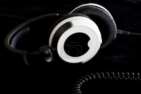 modern pair of stereo headphones