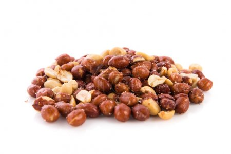 dried fruits over isolated background