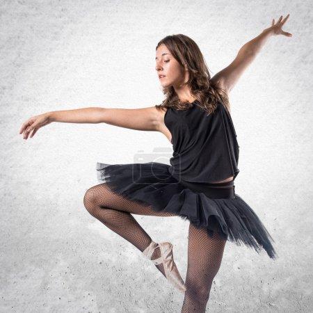 Beautiful girl dancer