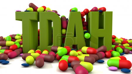 TDAH disorder and pills