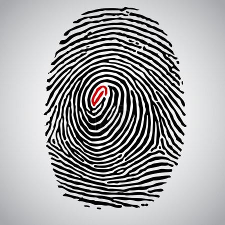 Eye Finger Print