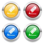 Tlačítka s ikonou tužky