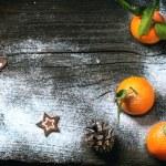 Постер, плакат: Christmas tangerines