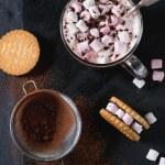 Постер, плакат: Hot chocolate with marshmallows