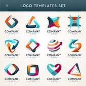 Abstract logos web Icons symbols