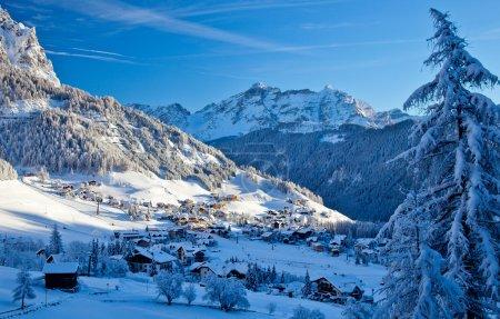 Photo pour Dolomites Alpes, Italie - image libre de droit