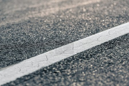 Photo for Asphalt of a road closeup photo - Royalty Free Image