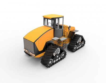 Tractor Isolated 3d