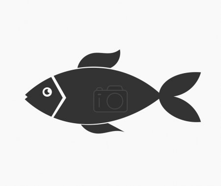 Illustration for Fish. Vector illustration - Royalty Free Image