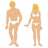 Templates of human's figure