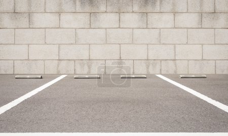 Empty space of car parking