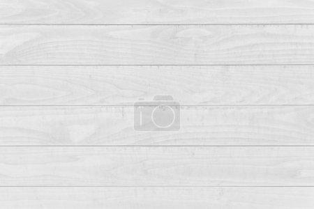 Photo pour Texture murale en bois blanc et fond sans couture - image libre de droit